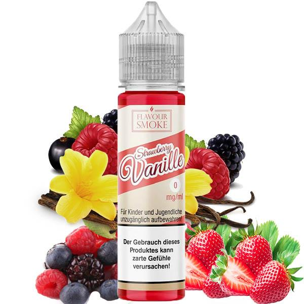 Strawberry Vanille 20ml Aroma by Flavour-Smoke